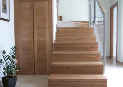 Suelos de madera y escaleras